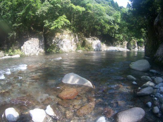 筑後川水系三隅川支流高瀬川