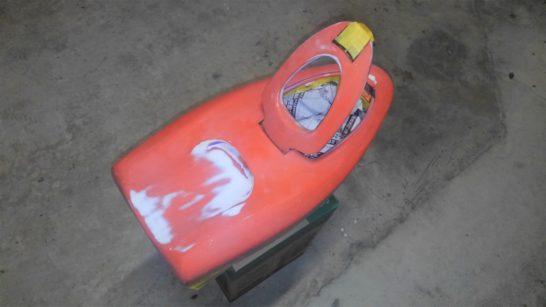 アドバンスパワー 塗装 曳舟1