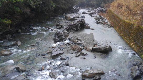 球磨川ヤマメ釣り場