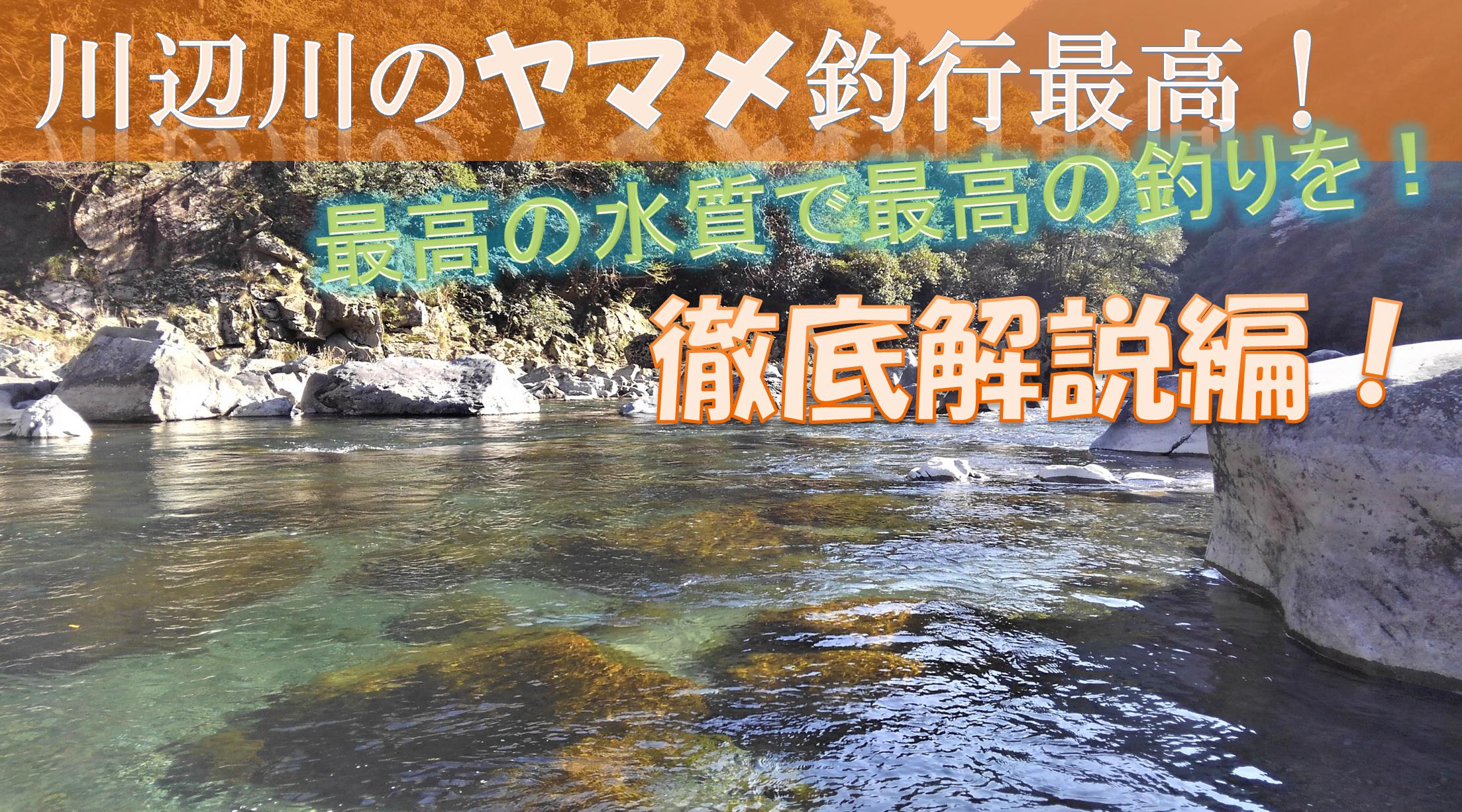 川辺川ヤマメ釣行最高!徹底解説編!
