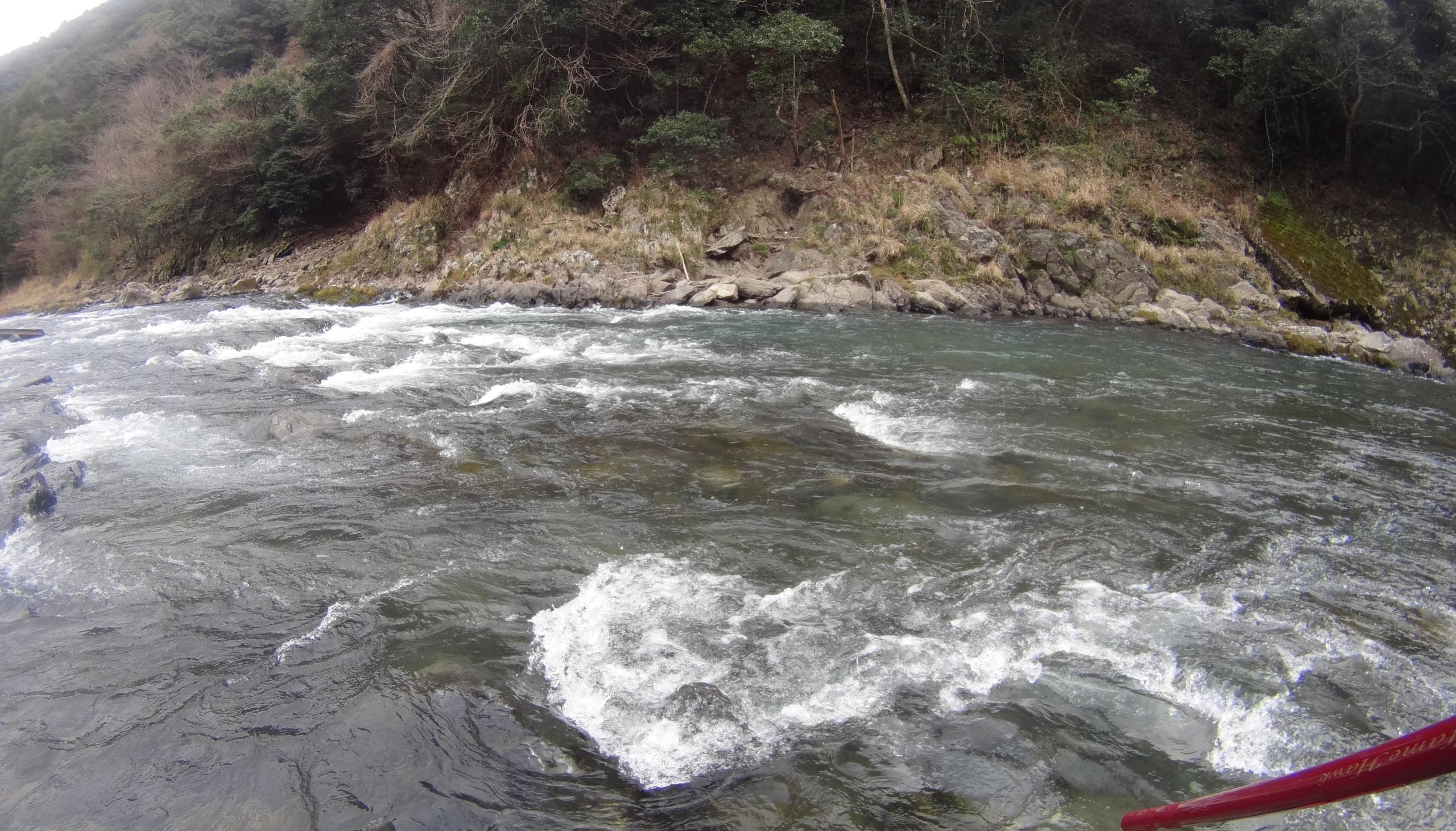 川辺川本流